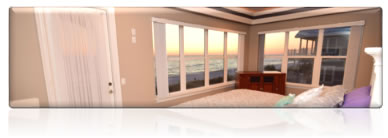 Second Master Bedroom with Gulf View